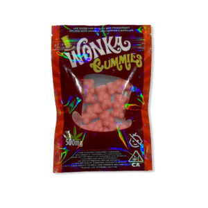 Wonka Gummies Sour Watermelon Bears 500mg